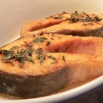 Как приготовить красную рыбу ?
