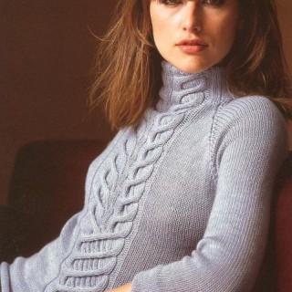 Как связать свитер спицами ?