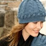 Связать шапку женскую спицами…Очень просто