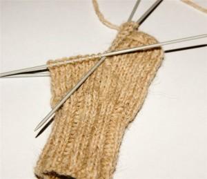 как крючком связать носки