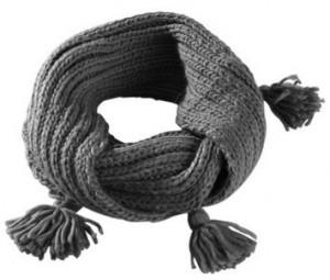 Как связать шарф хомут спицами