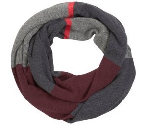 Как связать шарф хомут спицами?