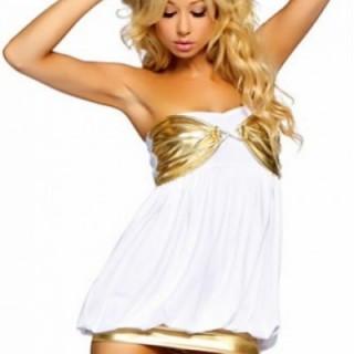 Белое золото платья