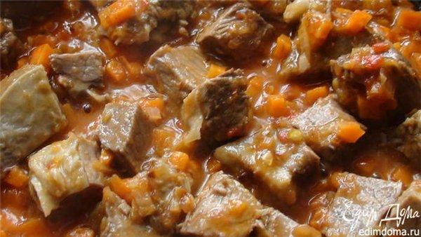 суп из свежей фасоли рецепт с мясом