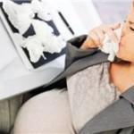 Насморк при беременности : симптомы