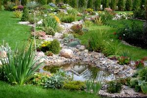 Стиль садового декора
