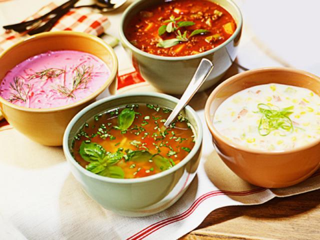 Супы в русской кухне