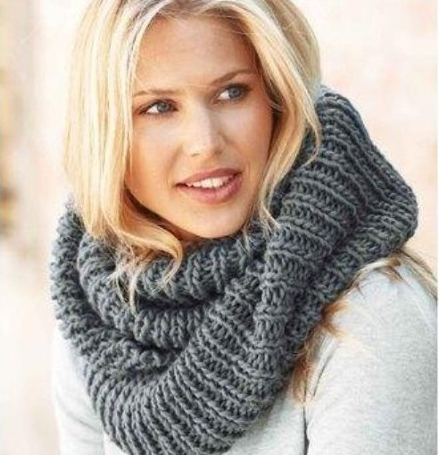 Связать шарф своими руками спицами